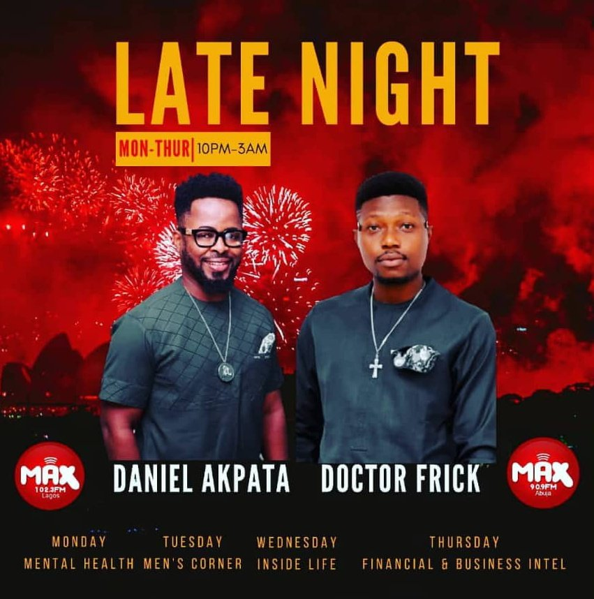 late night on max fm